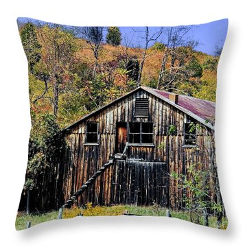 Stairs To The Loft Throw Pillow