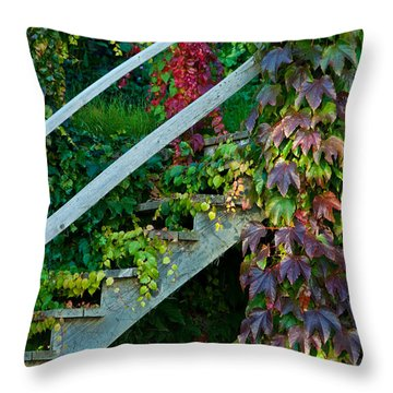 Stairs2 Throw Pillow