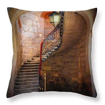 Stairway Of Light Throw Pillow