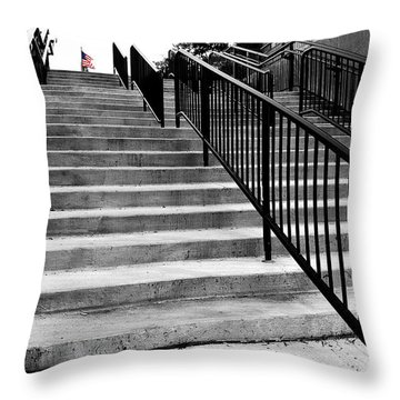 Stairway To Freedom Throw Pillow
