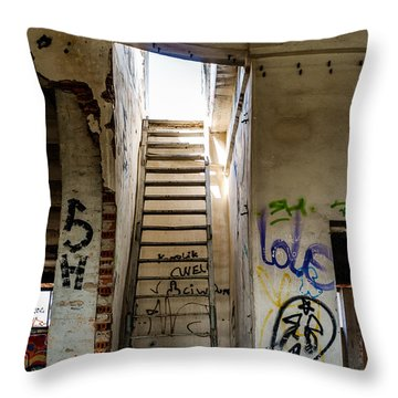Stairway To Heaven? I Don't Think So... Throw Pillow