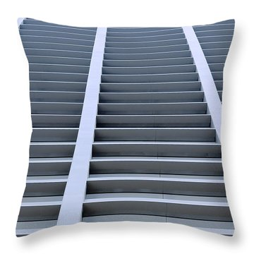 Stairway To Heaven In Houston Throw Pillow by Christine Till