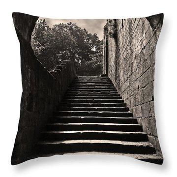 Stairway To Heaven Throw Pillow by John Topman