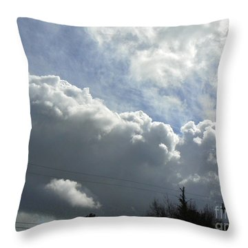 Stairway To Heaven Throw Pillow by K L Kingston