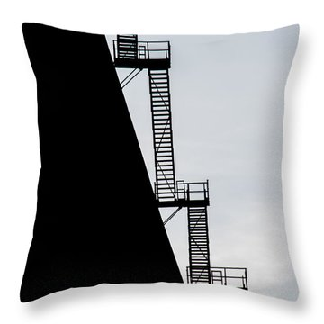 Stairway To Heaven Throw Pillow by Tikvah's Hope