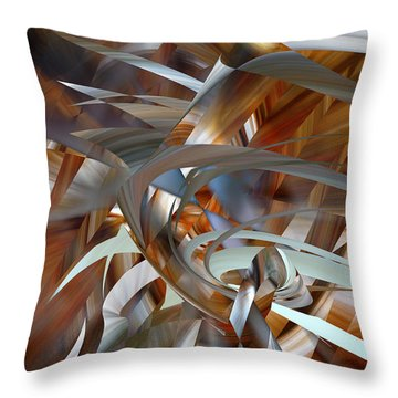 Throw Pillow featuring the digital art Stairway To Heaven by rd Erickson