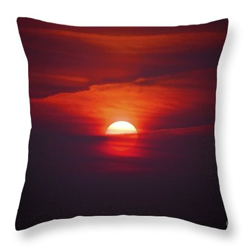 Stairway To Heaven Throw Pillow by Terri Waters