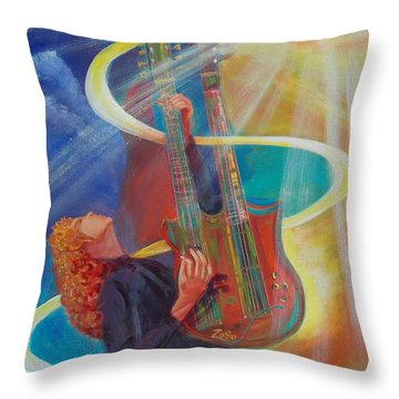 Stairway To Heaven Throw Pillow by To-Tam Gerwe