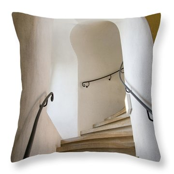 Stairway To Heaven Throw Pillow by William Beuther