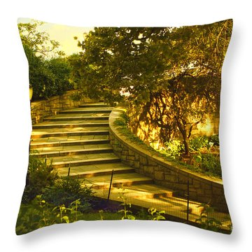 Stairway To Nirvana Throw Pillow