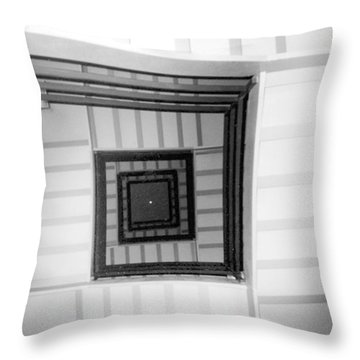 Stairwell Throw Pillow by Tarey Potter