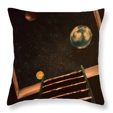 Stairwell To Heaven Throw Pillow
