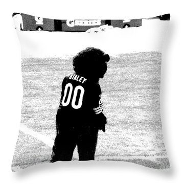 Staley Da Bear 2 Throw Pillow