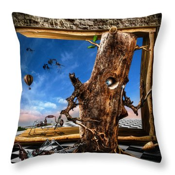 Stalkers Throw Pillow