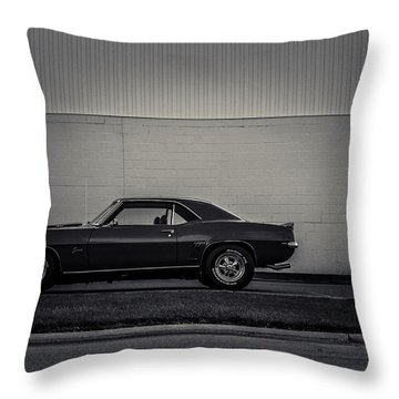 Stand Alone  Throw Pillow by Off The Beaten Path Photography - Andrew Alexander