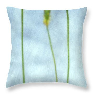 Stand By Me Throw Pillow by Priska Wettstein