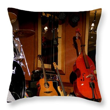 Stand By Throw Pillow by Nina Ficur Feenan