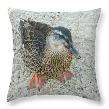 Throw Pillow featuring the photograph Standing At Attention by Emmy Marie Vickers