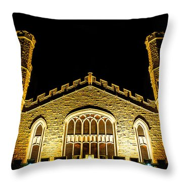 Throw Pillow featuring the photograph Standing Faith by Rhys Arithson