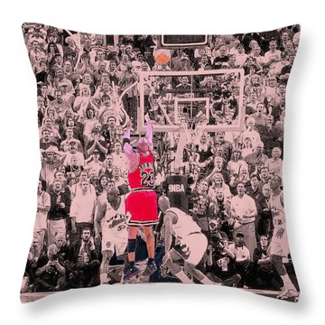 Throw Pillow featuring the photograph Standing Out From The Rest Of The Crowd by Brian Reaves