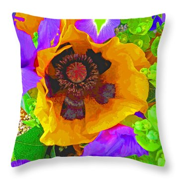 Standing Out With Hope Throw Pillow