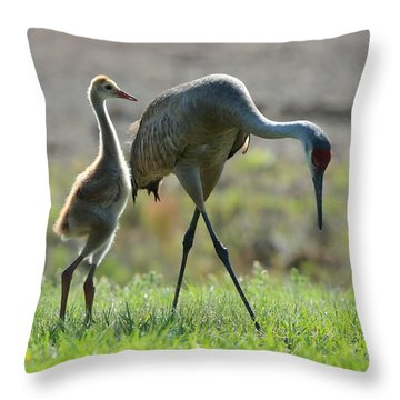 Standing Proud Throw Pillow by Carol Groenen
