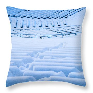 Standing Room Only - Featured 3 Throw Pillow by Alexander Senin