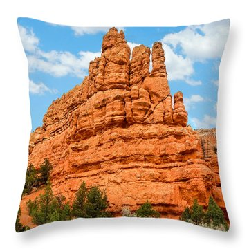 Standing Tall Throw Pillow by Denise Bird