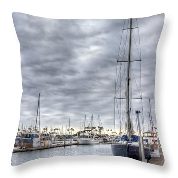 Standing Tall Throw Pillow by Heidi Smith
