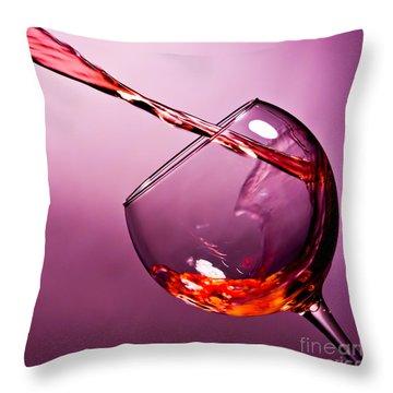Wine Art Throw Pillows