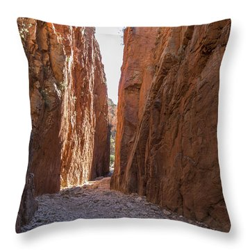 Standley Chasm Nt Throw Pillow