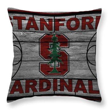 Stanford Cardinals Throw Pillow
