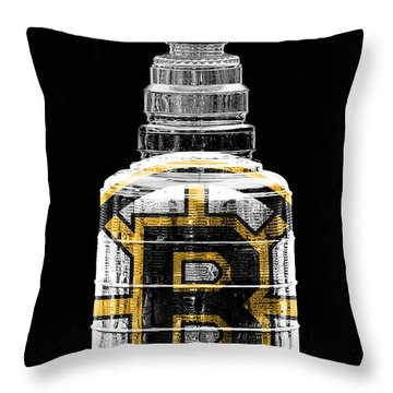 Stanley Cup 3 Throw Pillow