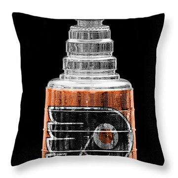 Stanley Cup 9 Throw Pillow