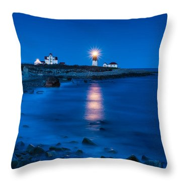 Star Beacon Throw Pillow