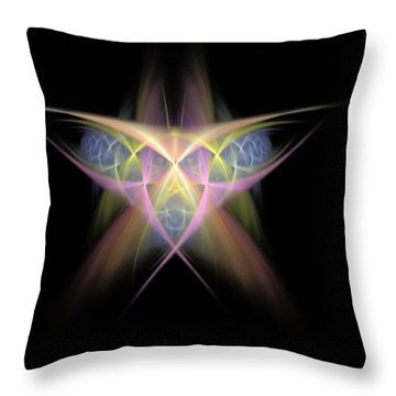 Star Throw Pillow by Bruce Nutting