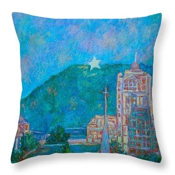Star City Throw Pillow