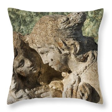 Star Crossed Lovers Throw Pillow by Steve Purnell