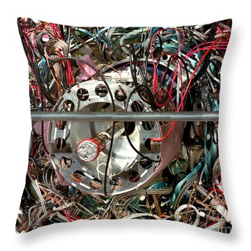 Star Detector Throw Pillow by Brookhaven Natl Lab and SPL and Photo Researchers