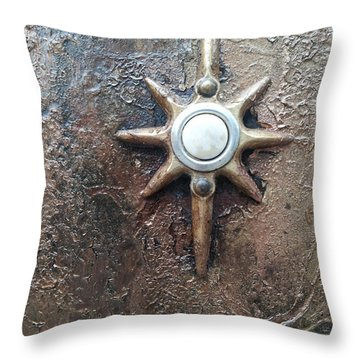 Star Doorbell Throw Pillow