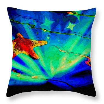 Star Dream Throw Pillow