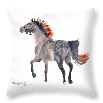 Da151 Star Dust By Daniel Adams Throw Pillow