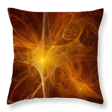 Star Is Born Throw Pillow by Vitaliy Gladkiy