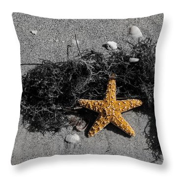 Star Man Throw Pillow