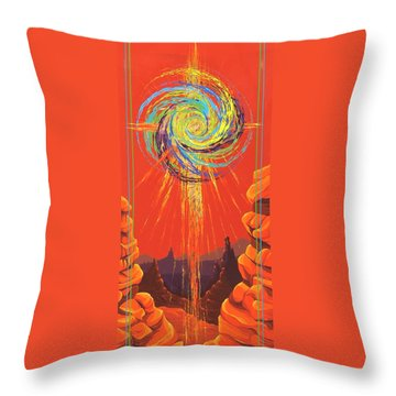 Star Of Splendor Throw Pillow