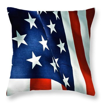 Star-spangled Banner Throw Pillow