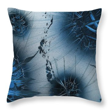 Star-storm Throw Pillow