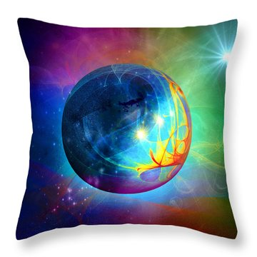 Star To Star Throw Pillow