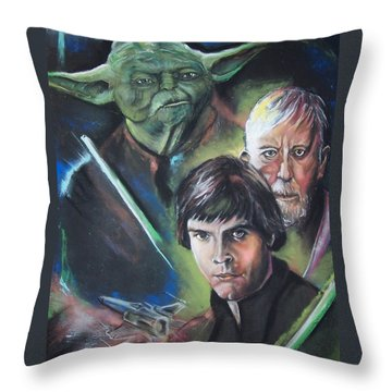 Star Wars Medley Throw Pillow