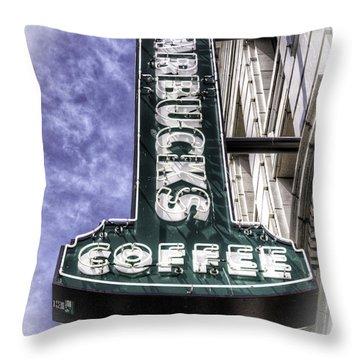 Starbucks - Ballard Throw Pillow